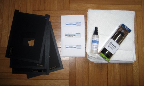 ScanScience kit for 4x5 large format and Epson v750 Pro